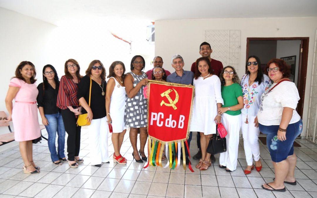 Cônsul Cubana visita PCdoB no Piauí – veja as imagens.