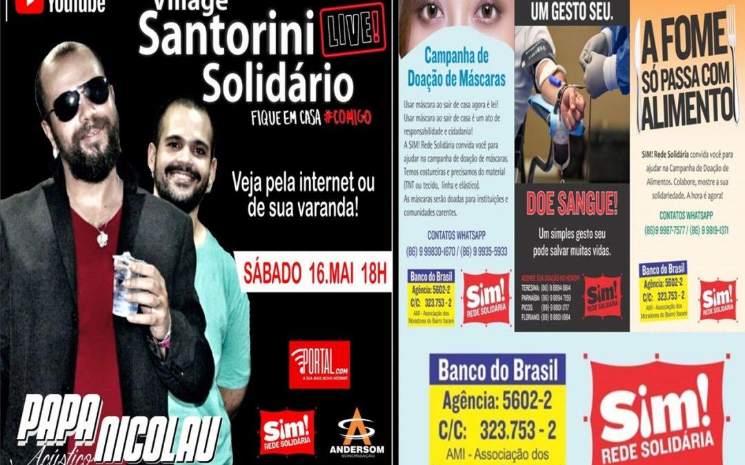 Banda Papanicolau faz Live em apoio a 'SIM! Rede Solidária'