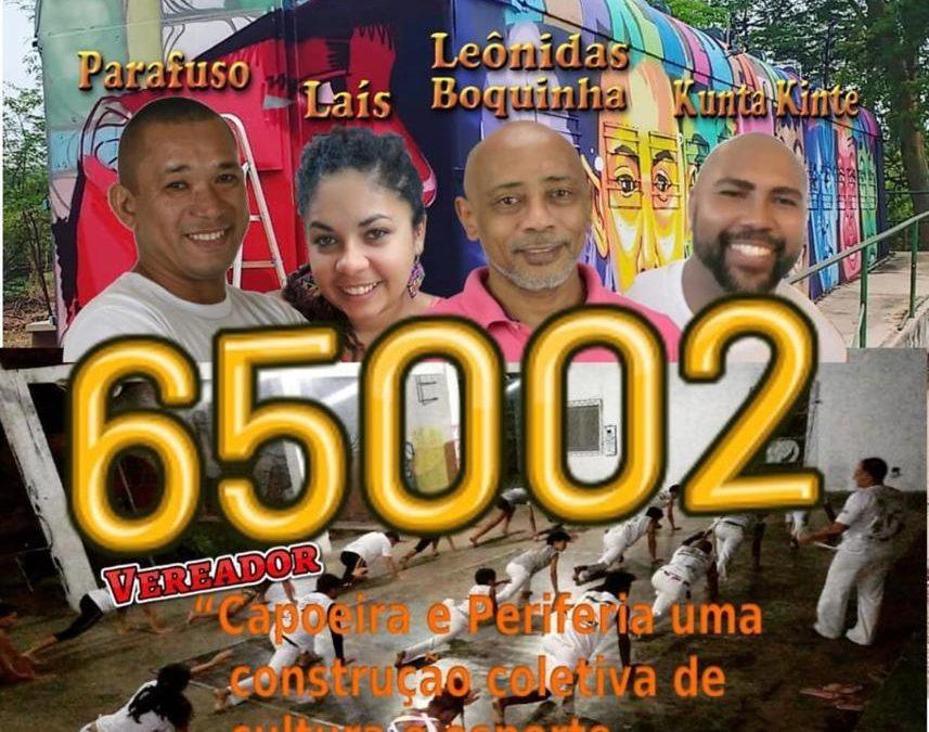 """Capoeira é tema da Live do Coletivo """"Capoeira e Periferia"""""""