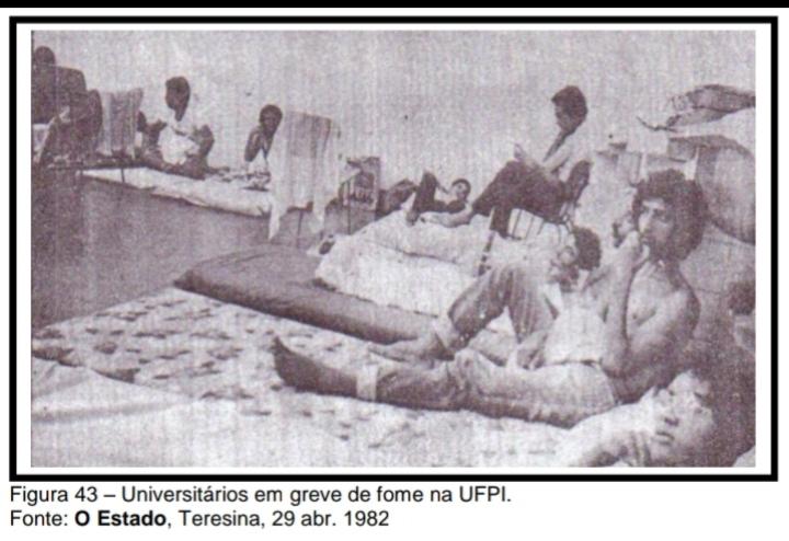 Greve de fome da UFPI, abril de 1982